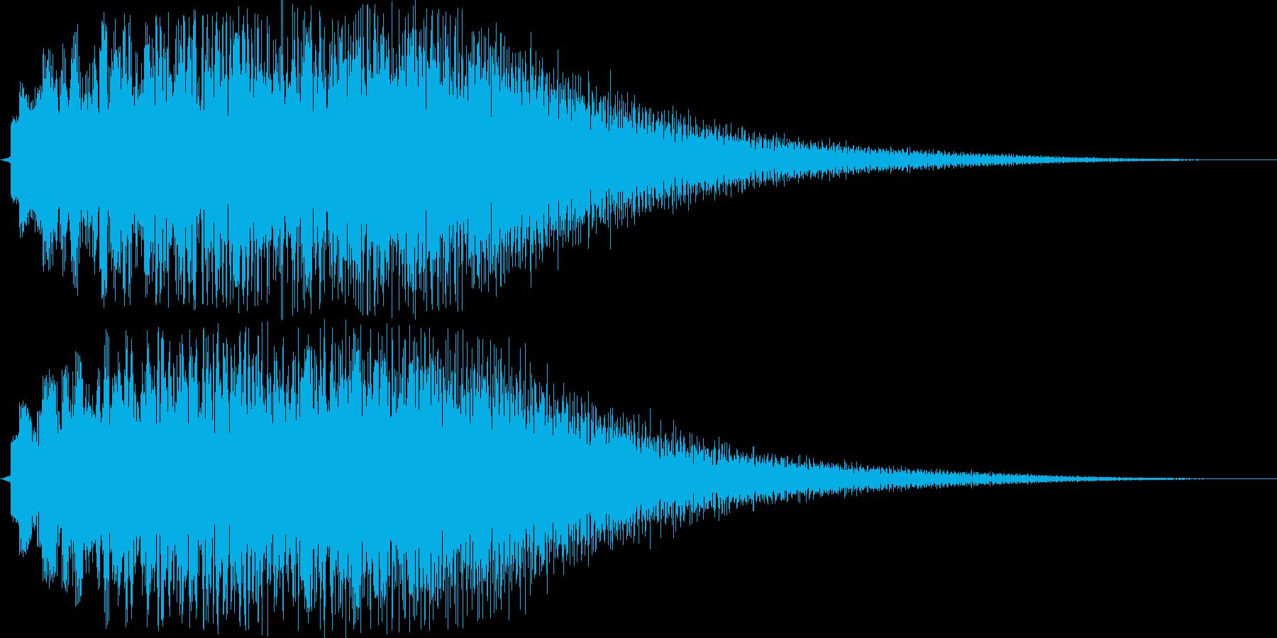 デュラララララララーン(チャイム系)の再生済みの波形