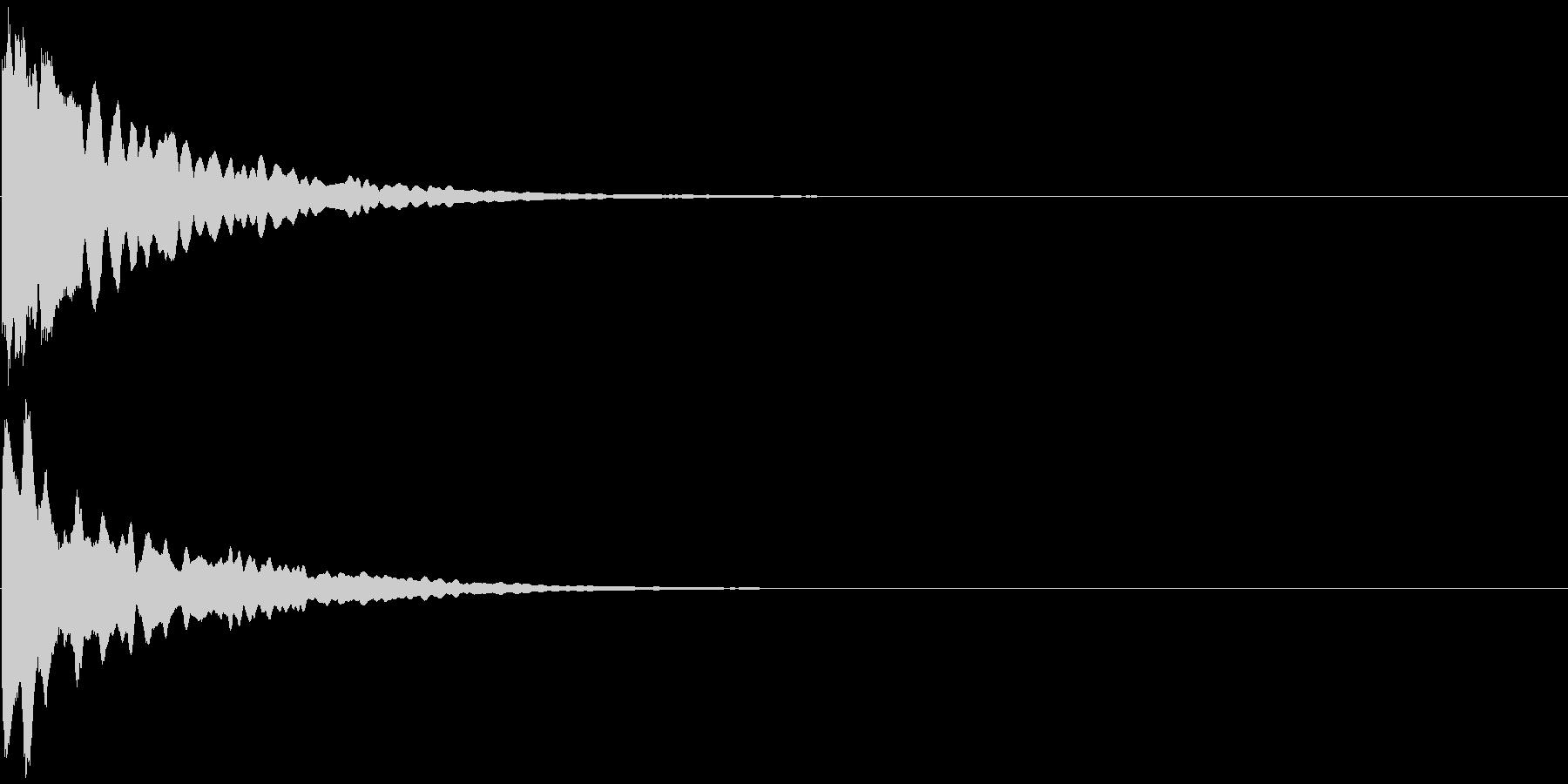 キラーン  の未再生の波形