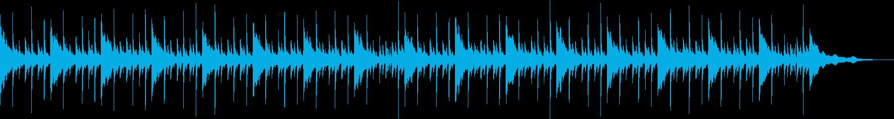 オルゴール風のクリスマスソングの再生済みの波形