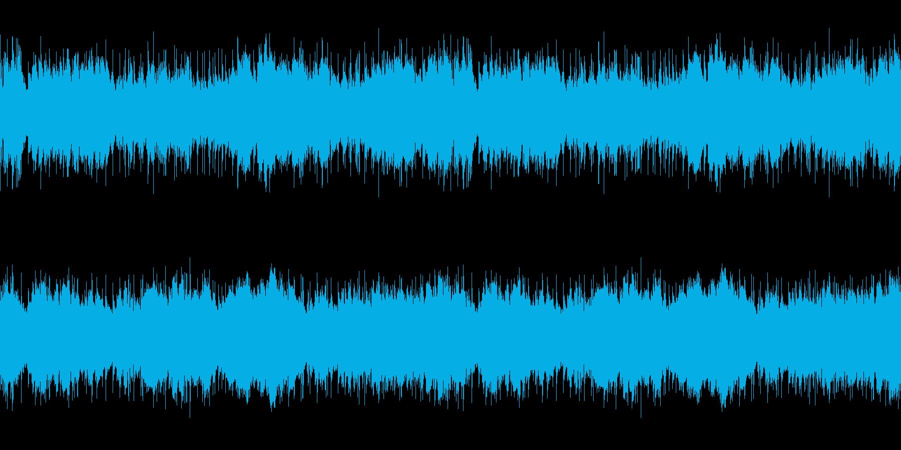 ループ仕様フィールド系,民族「異国」の再生済みの波形