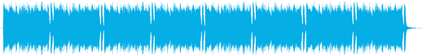 グランジ系ロック 編集版の再生済みの波形