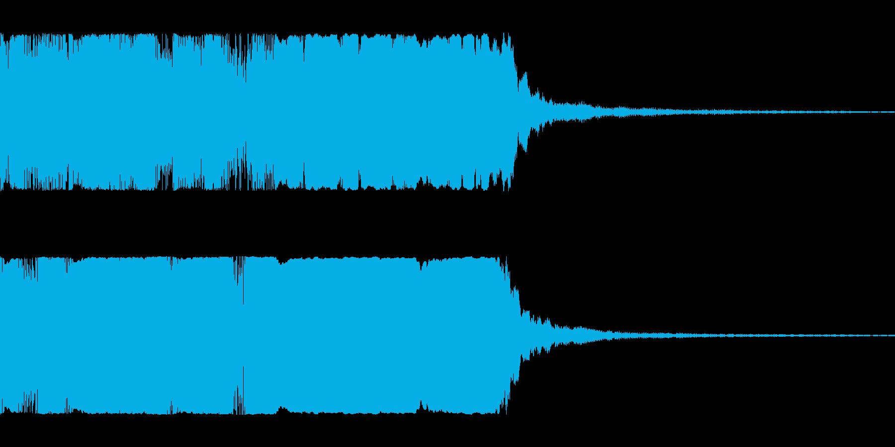 派手目のファンファーレ パンパカパーンの再生済みの波形