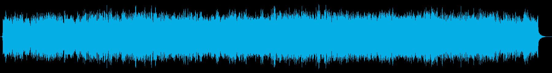 バイオリンソロのロマンチック映画風の曲の再生済みの波形
