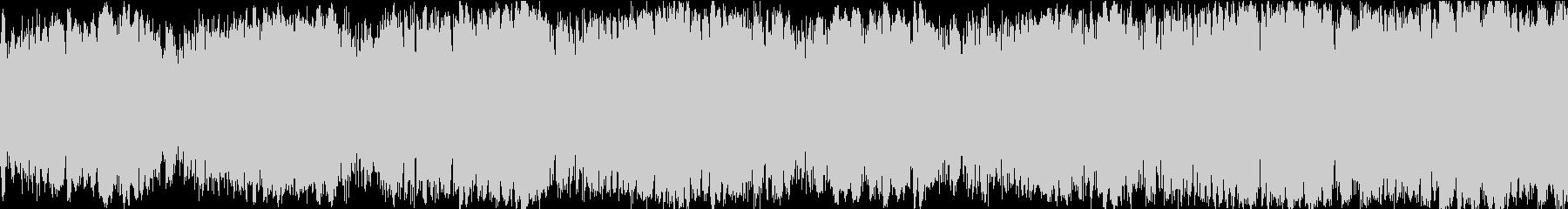 ドラマチックEDMループサウンドの未再生の波形