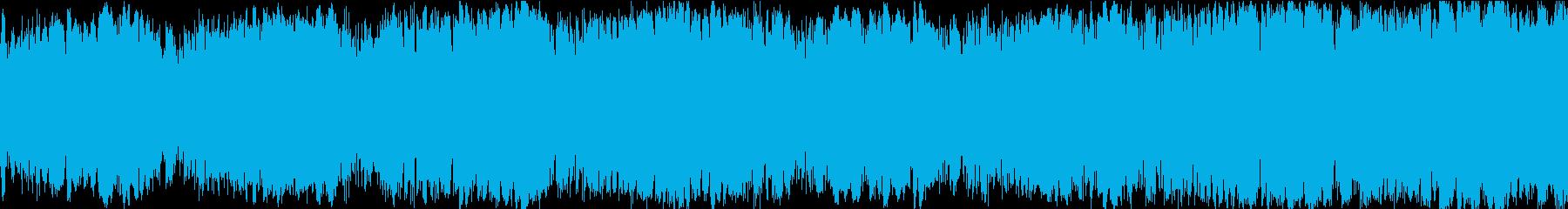 ドラマチックEDMループサウンドの再生済みの波形