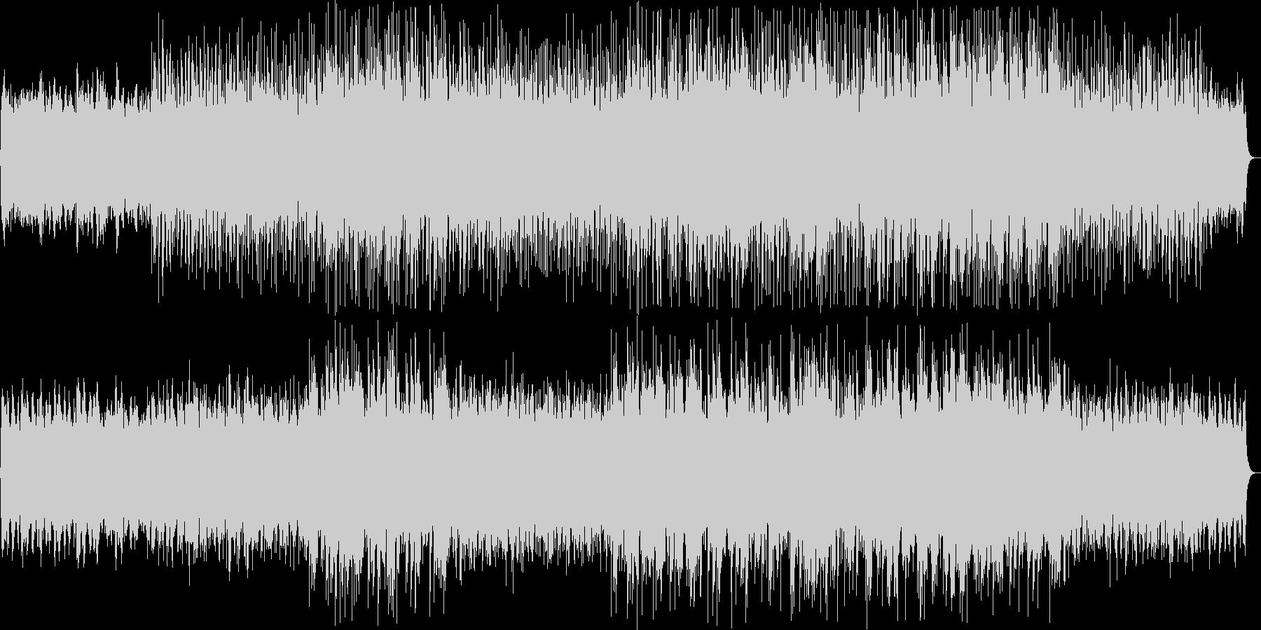 壮大な印象のシンセ・ピアノサウンドの未再生の波形