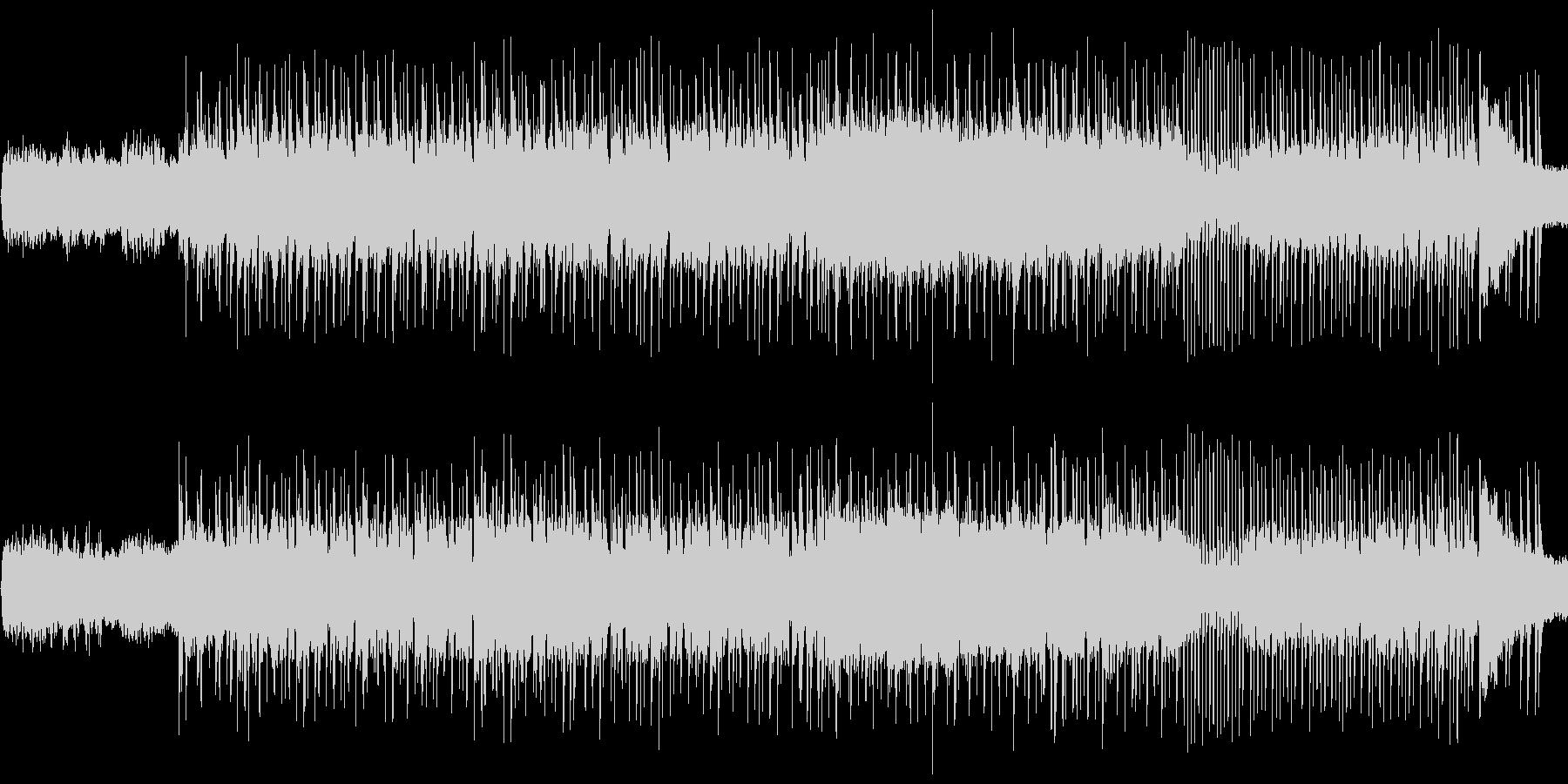 グイグイ一気に引き込む圧倒的ハードロックの未再生の波形