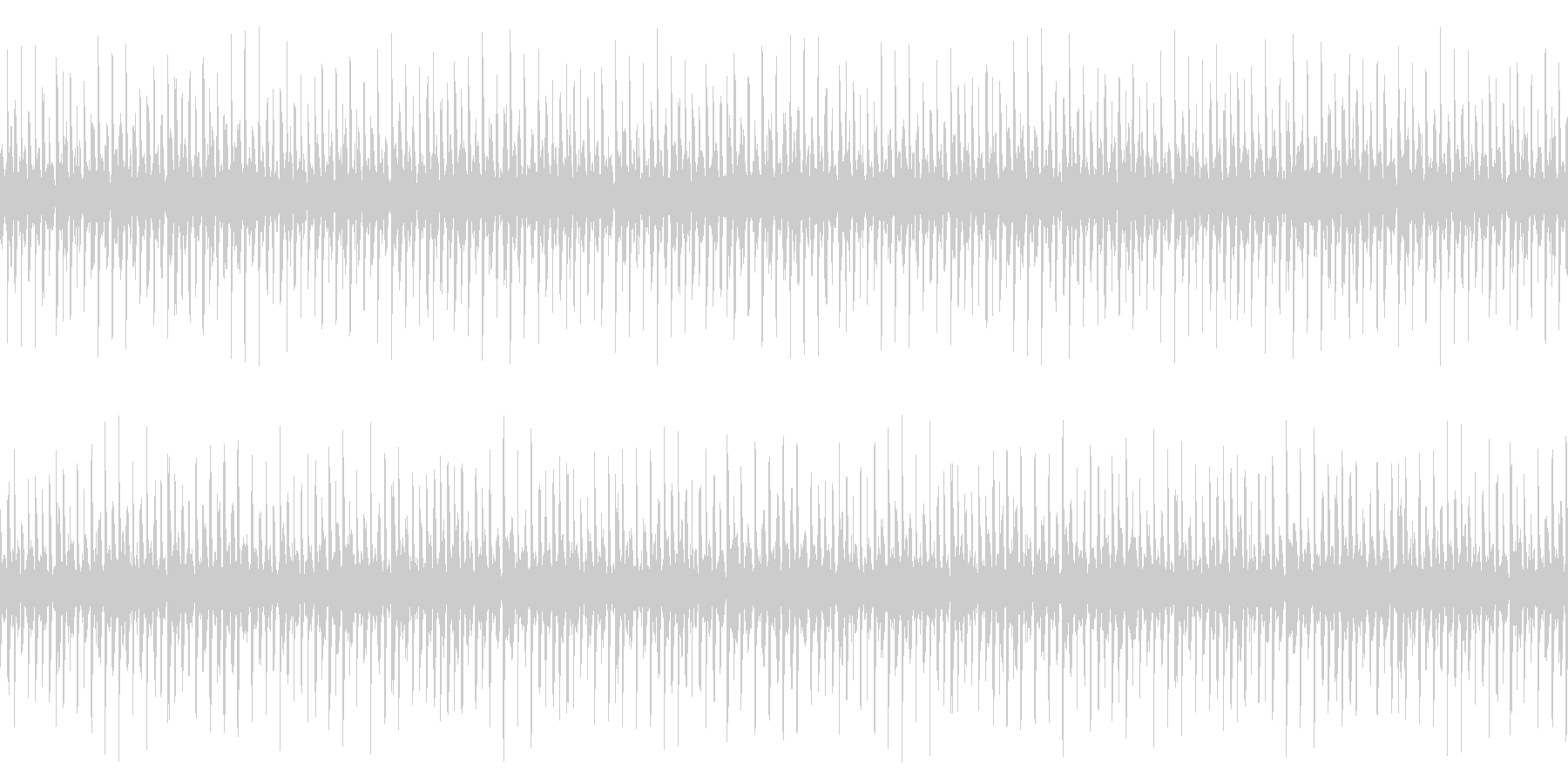 シンキングタイム、リズムループの未再生の波形