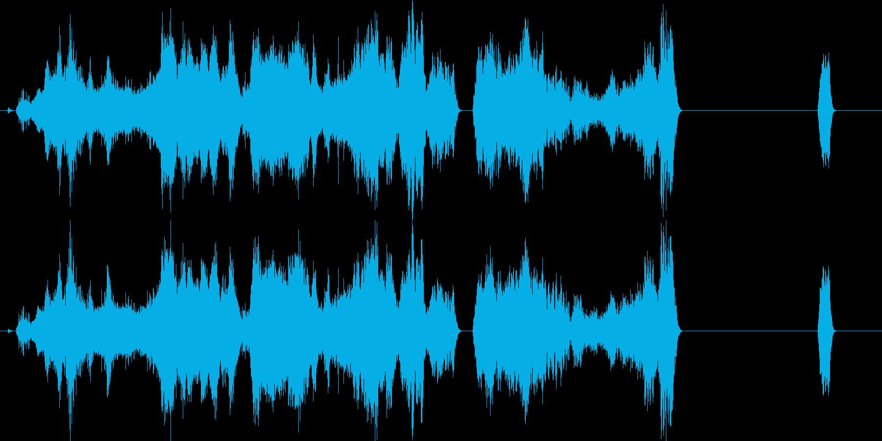 宇宙の星と月見て作ったヒーリング曲です。の再生済みの波形