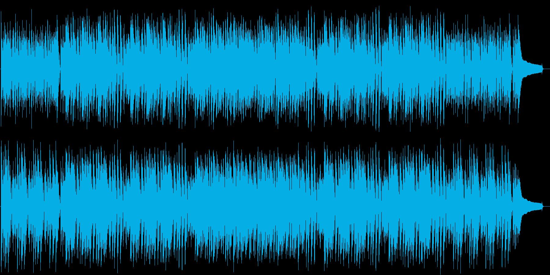 楽しい南国リゾート風トロピカルBGM♪の再生済みの波形