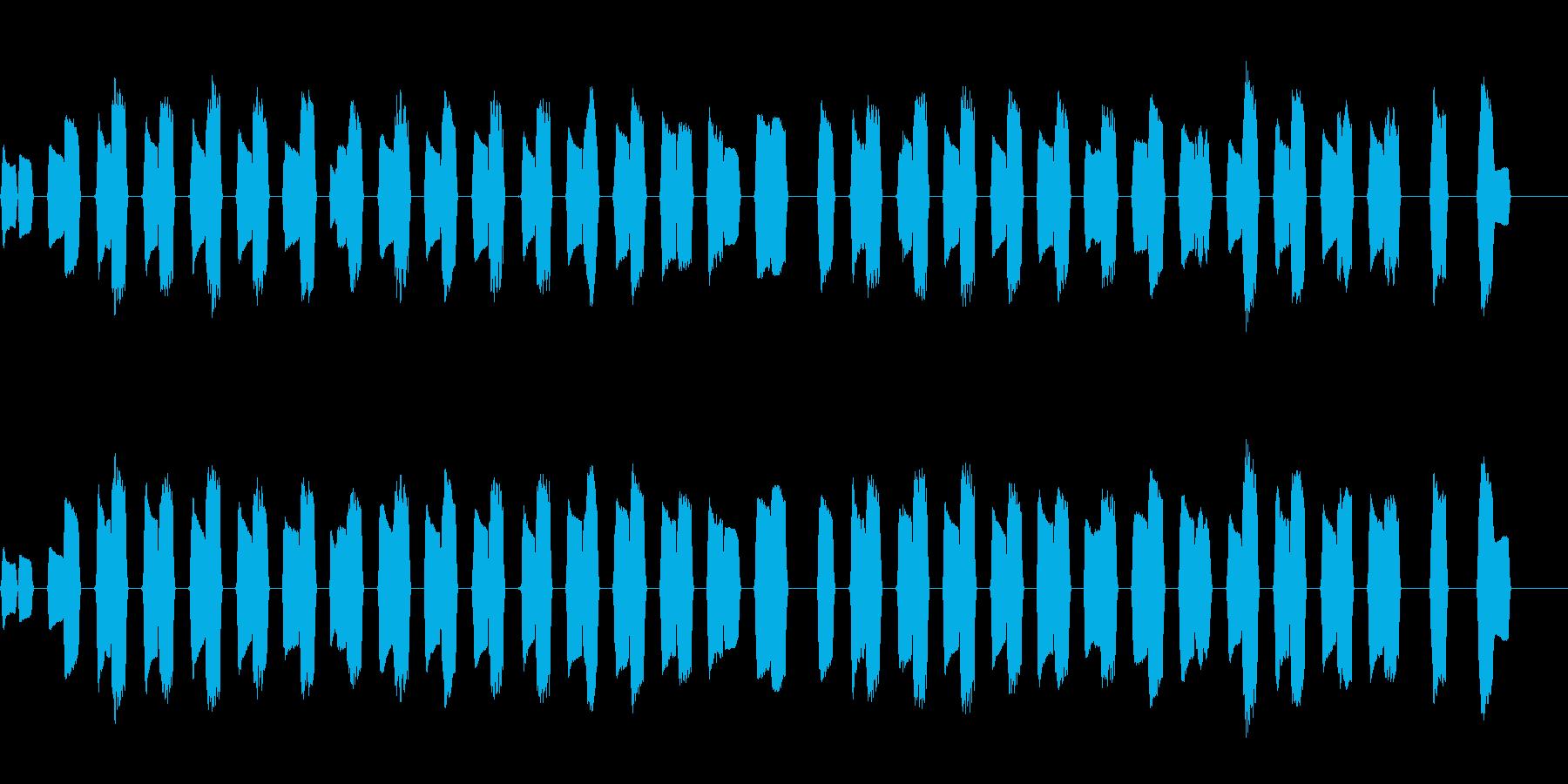 ピタゴラスイッチ風のほっこりしたBGMの再生済みの波形
