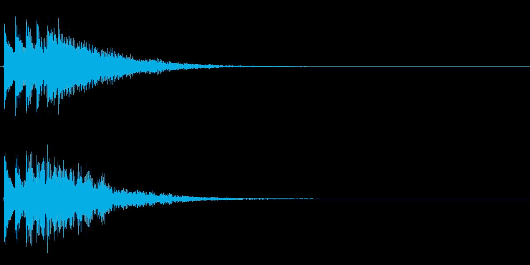 タララララン↑(場面転換、上昇)の再生済みの波形