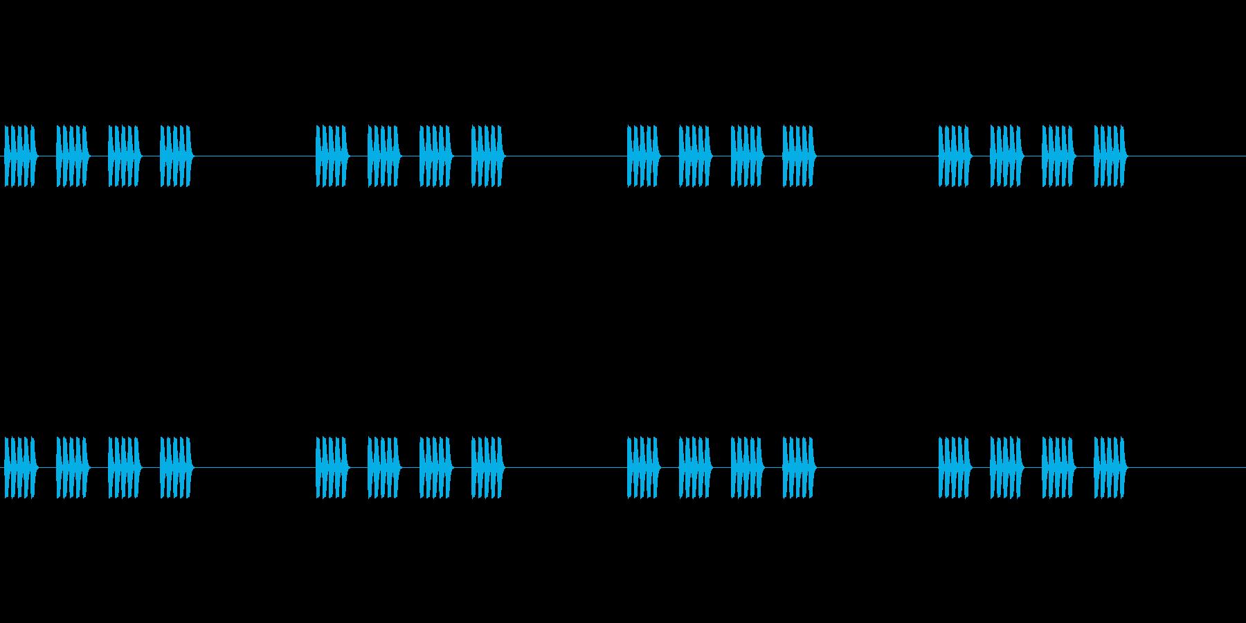 【携帯電話 着信音01-4L】の再生済みの波形