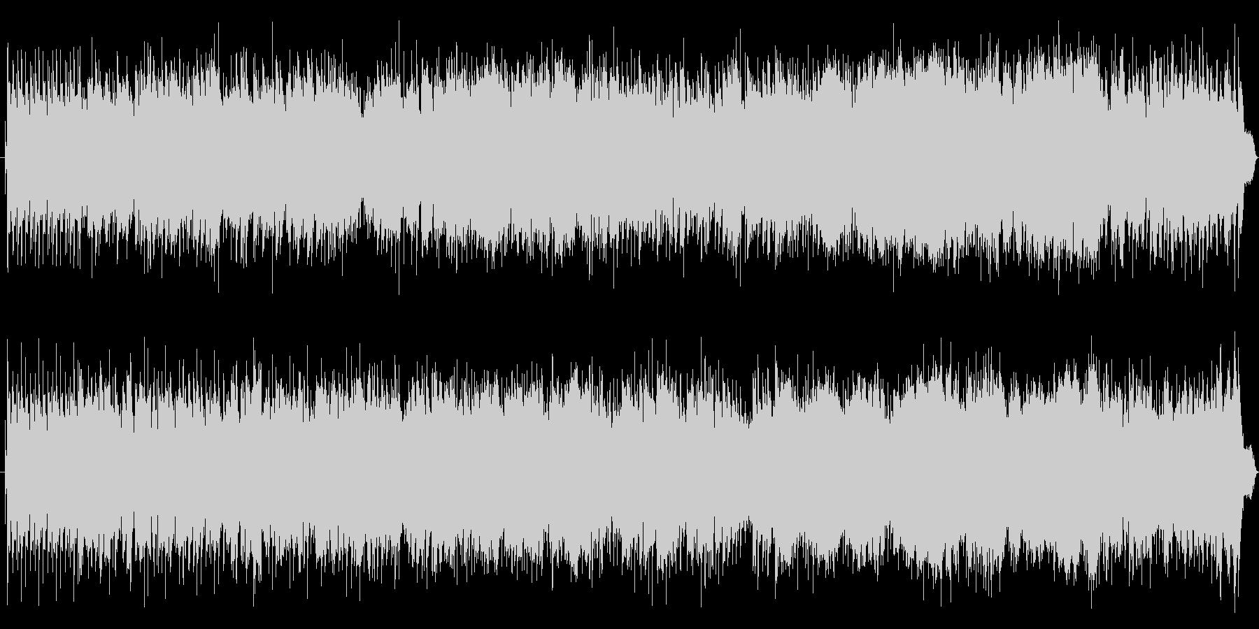 7拍子+4拍子の元気なJazzFunkの未再生の波形
