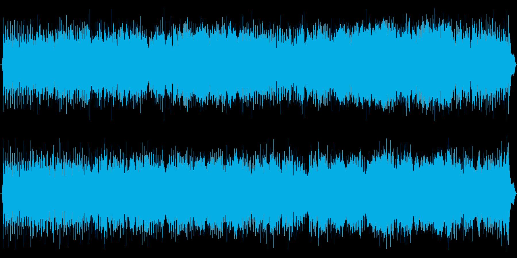 7拍子+4拍子の元気なJazzFunkの再生済みの波形