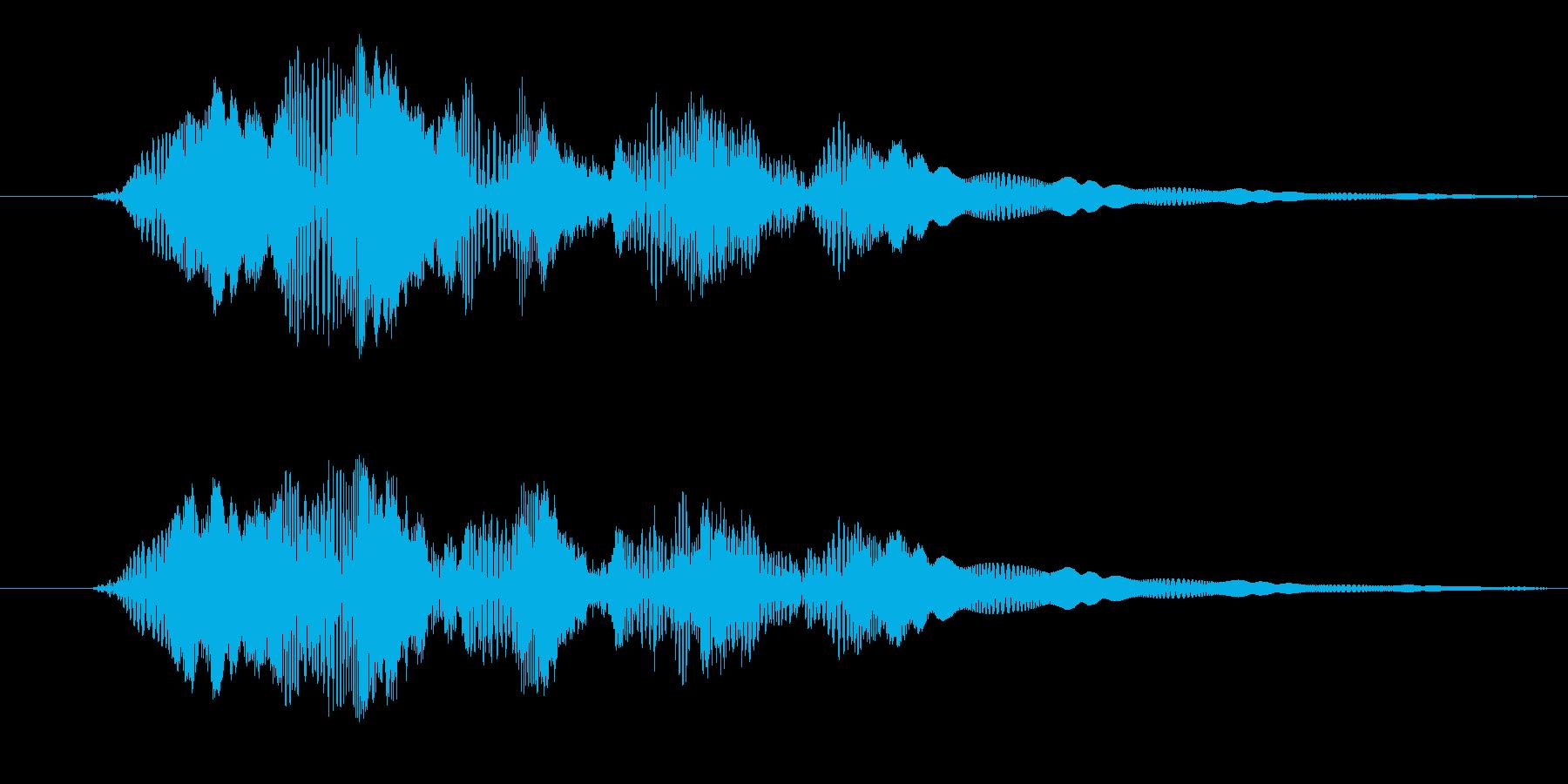 プルプル(スライム・ゼリー)3の再生済みの波形