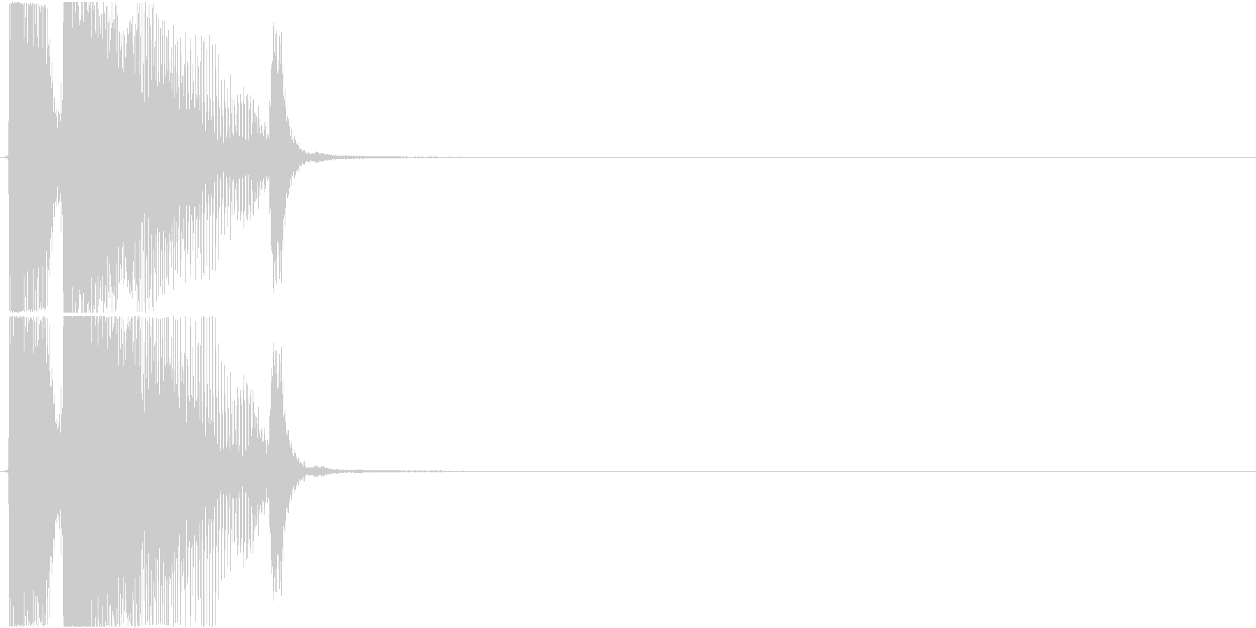 「エクセレント」アプリ・ゲーム用の未再生の波形