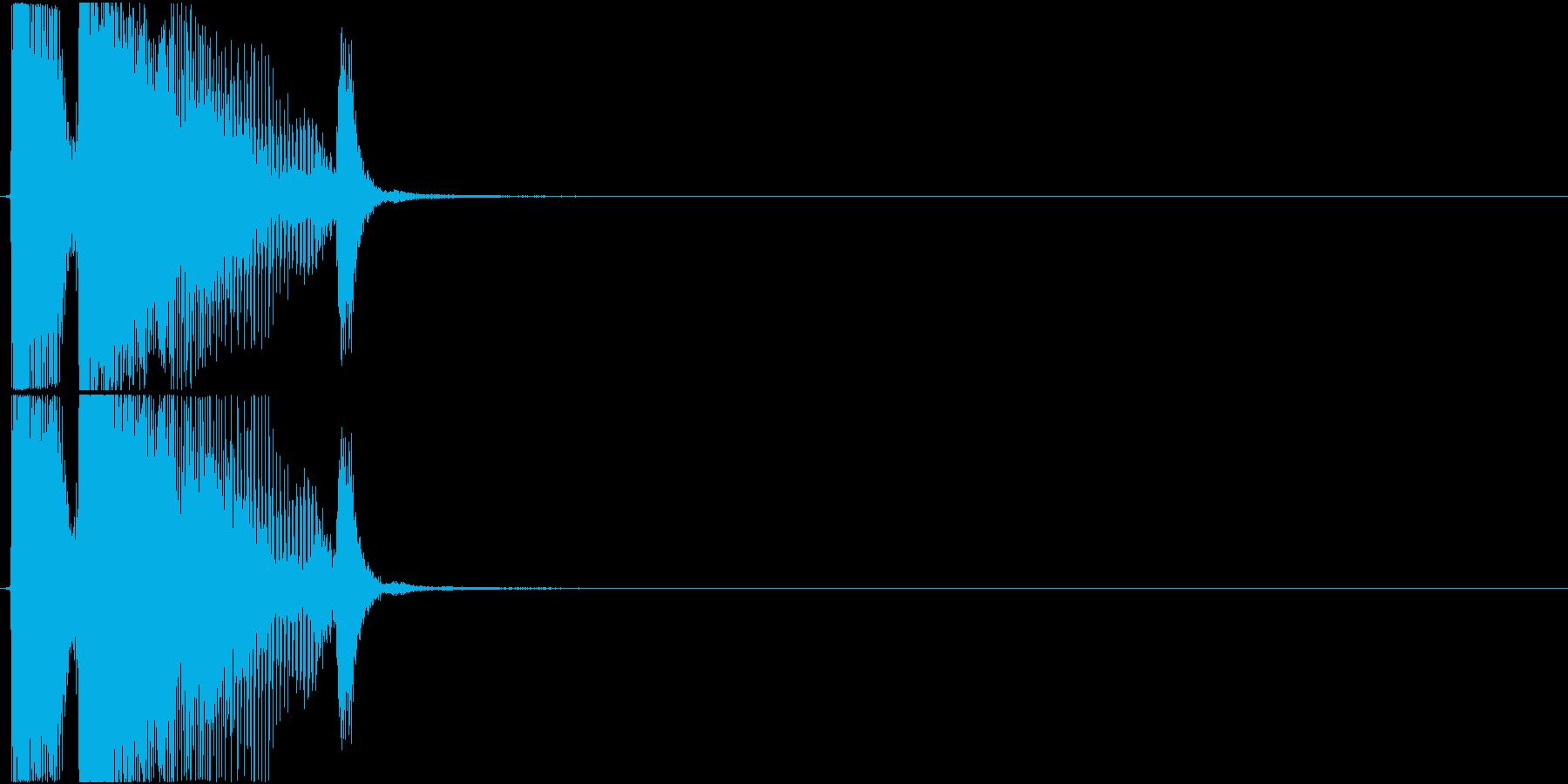 「エクセレント」アプリ・ゲーム用の再生済みの波形