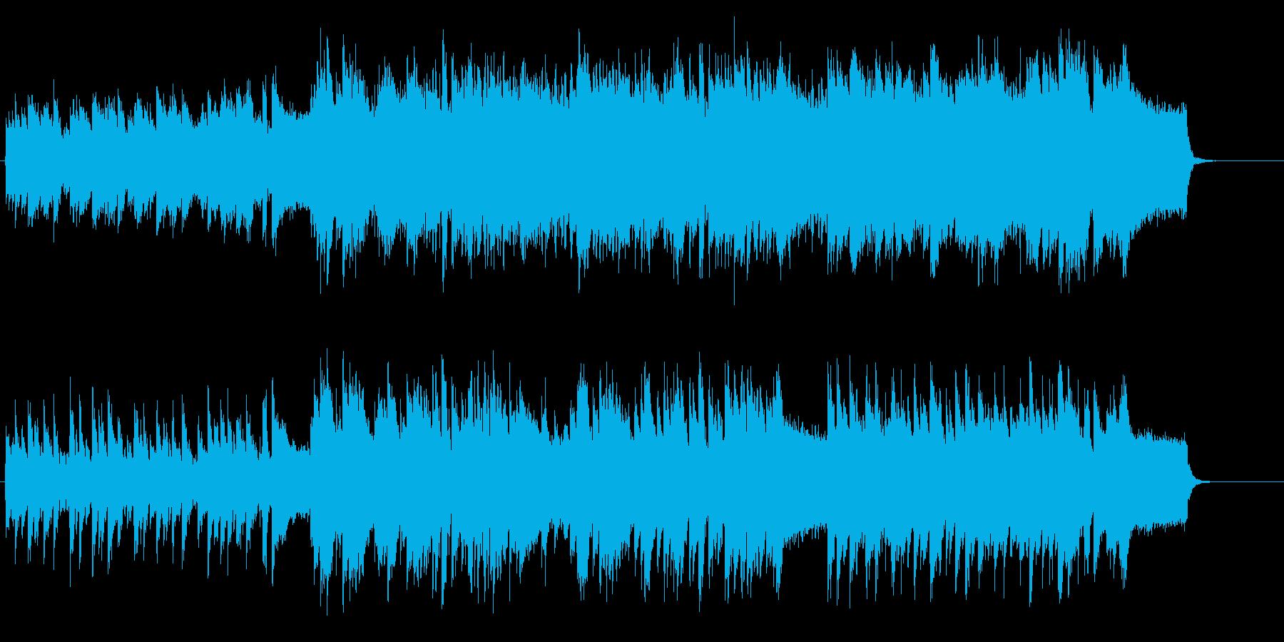 コーヒーブレイクの似合うタイトルの再生済みの波形
