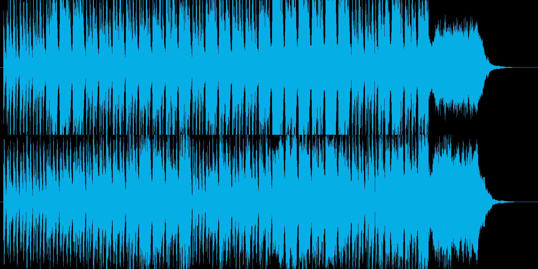 ポップなちょっとオシャレなCM風の再生済みの波形