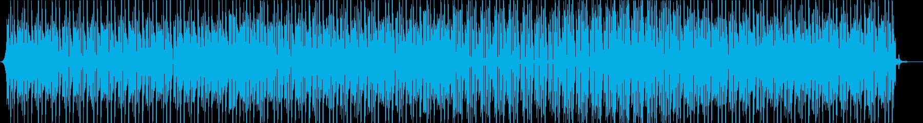 アパレル系映像向けスローアシッドハウスの再生済みの波形