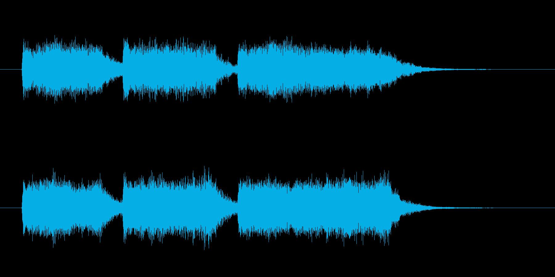 起立・気をつけ・礼(パイプオルガン)の再生済みの波形