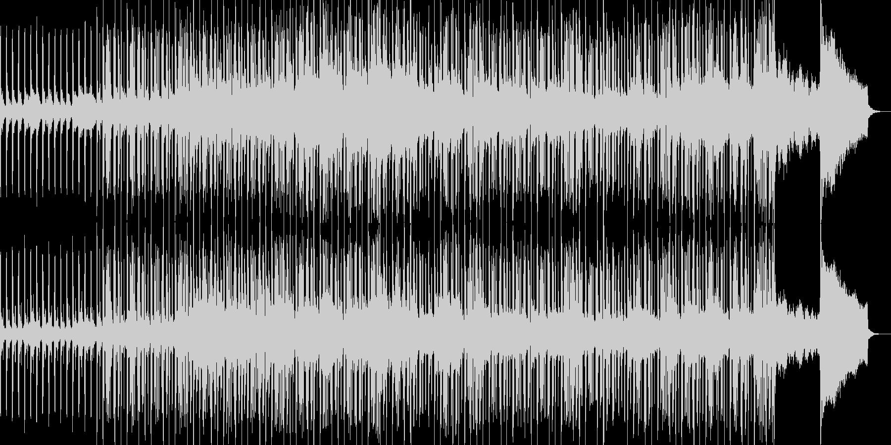 ちょっとバブリーなEDMの未再生の波形
