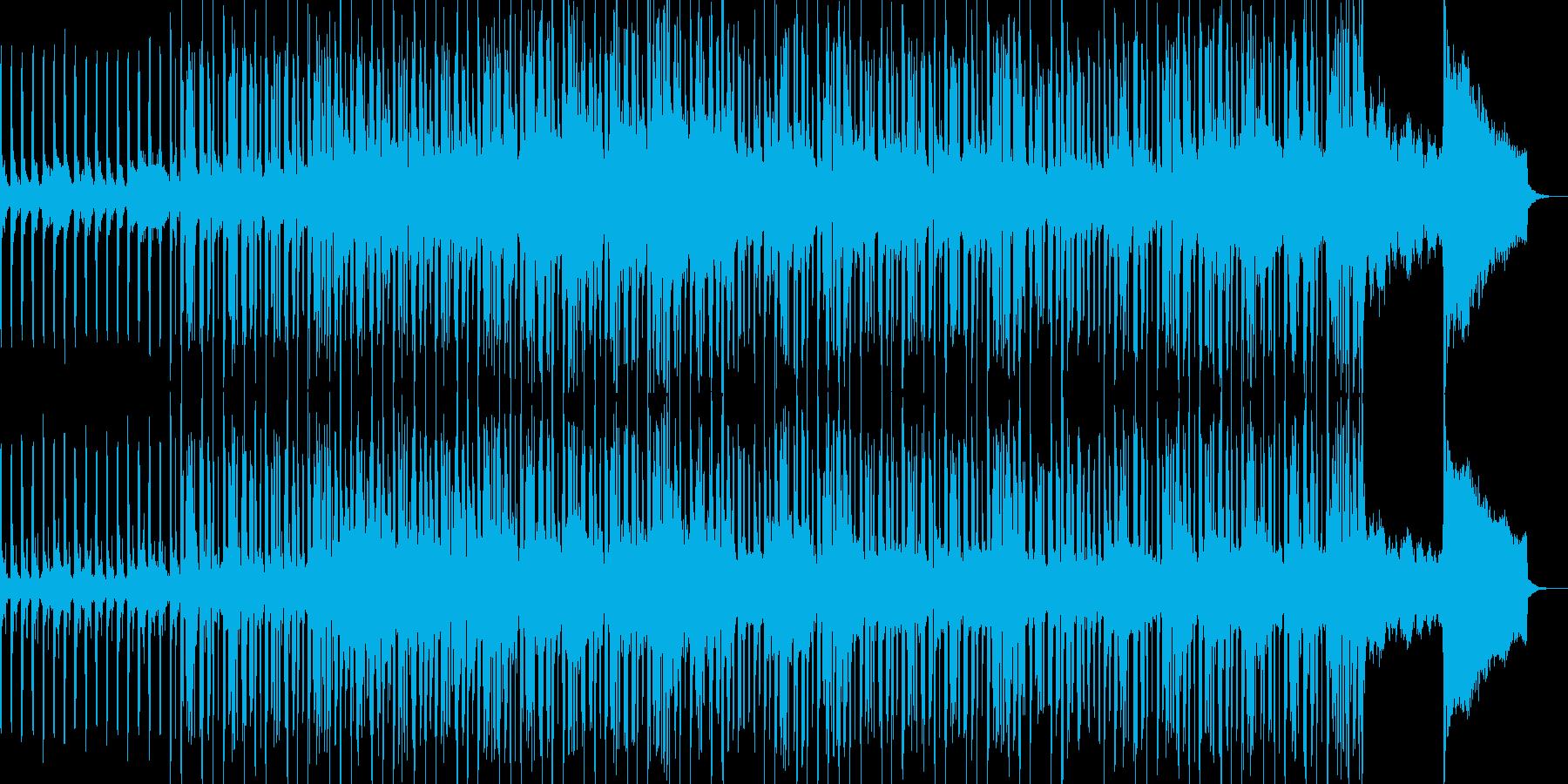 ちょっとバブリーなEDMの再生済みの波形
