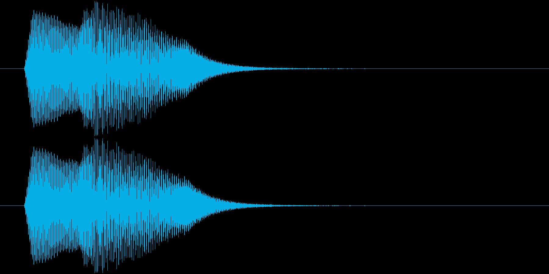 ポヨインッ アイテム獲得や出現などの再生済みの波形
