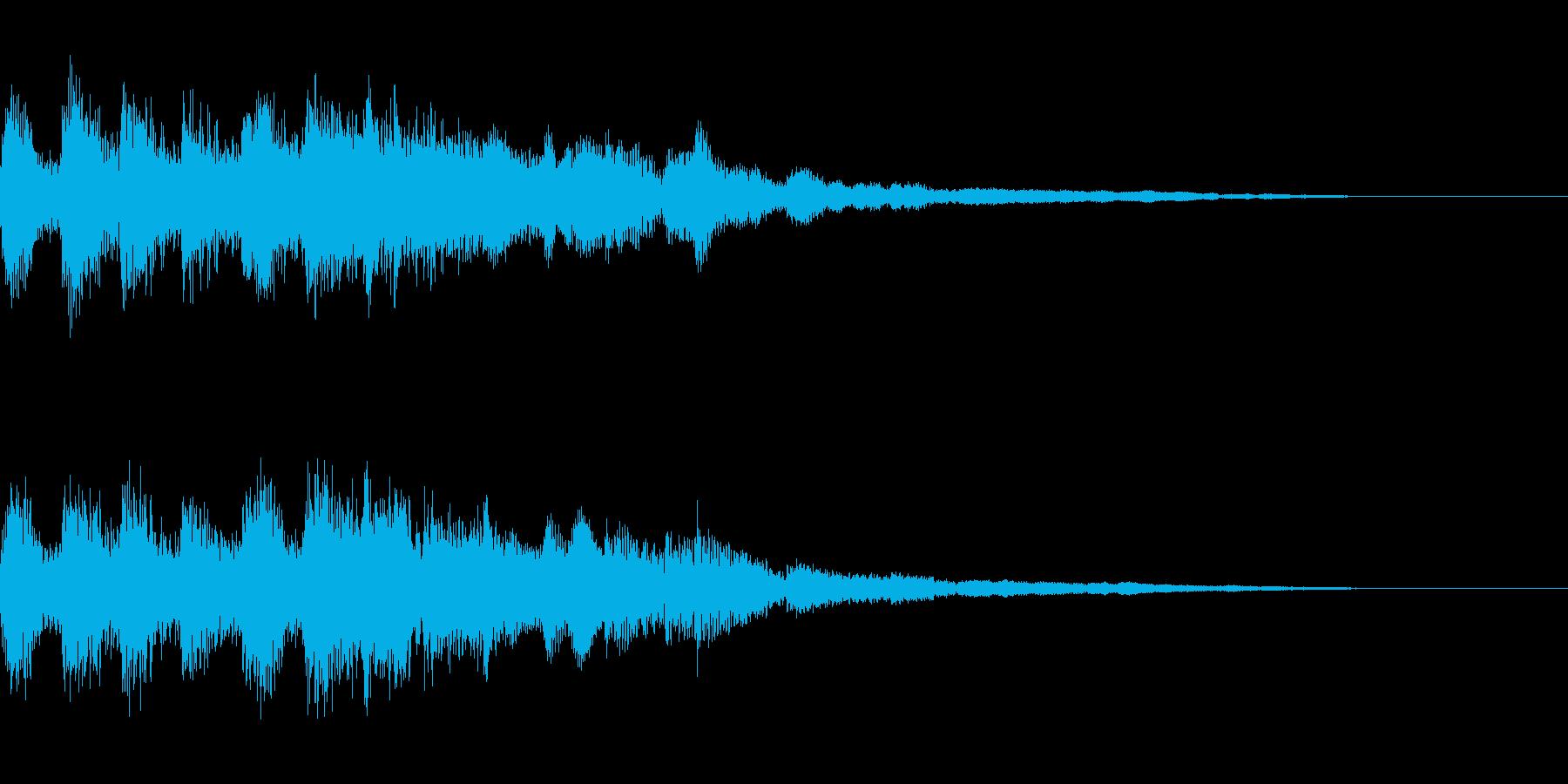 タイトル画面の音などの再生済みの波形