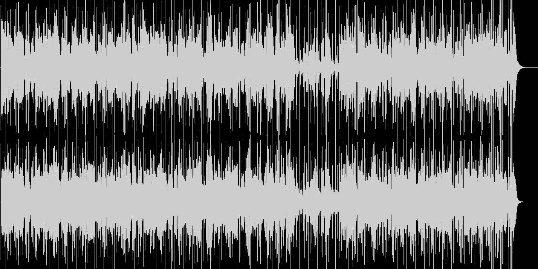 都会的で淡々としたおしゃれなソウル音楽の未再生の波形