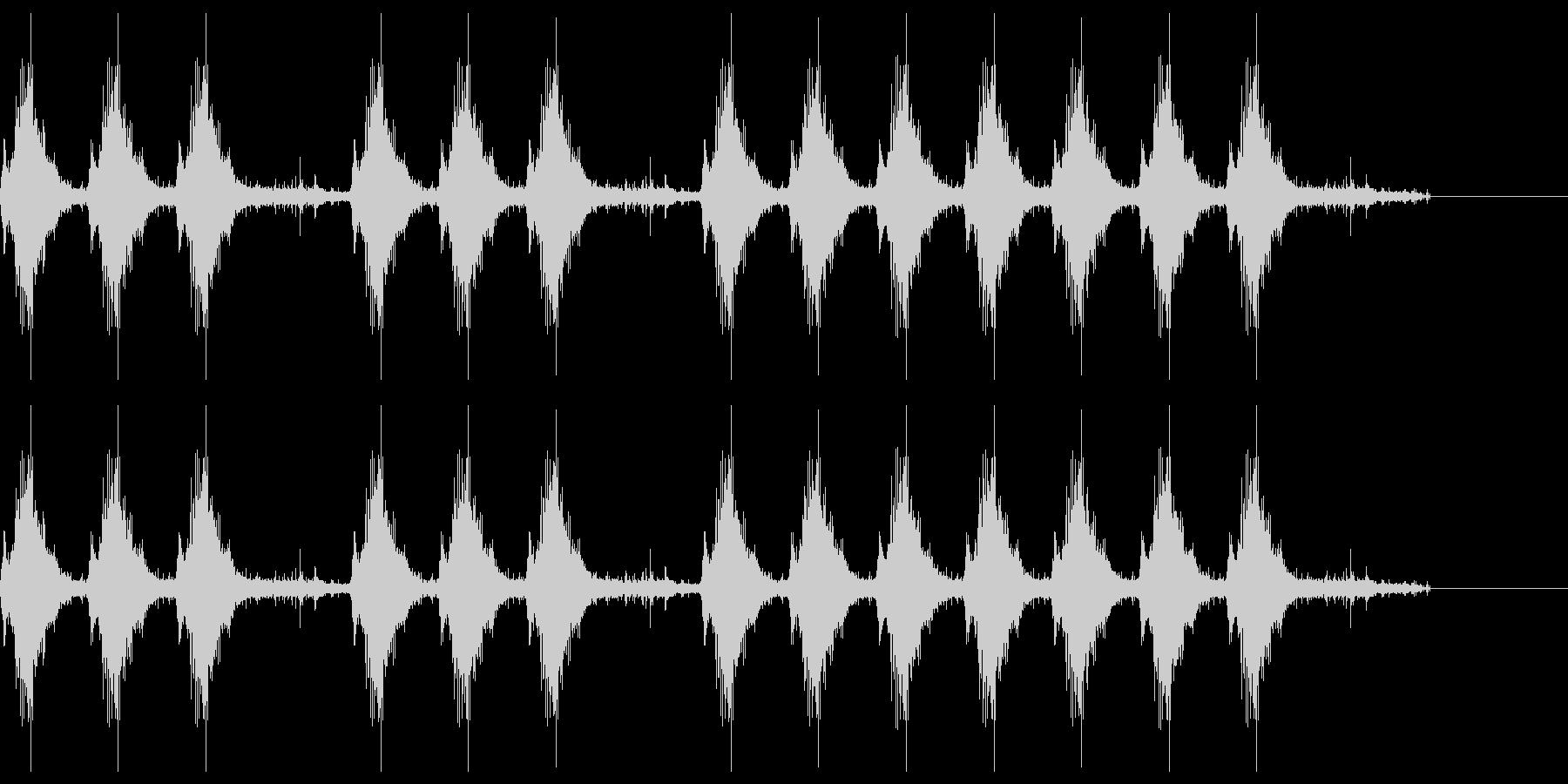三三七拍子 その10の未再生の波形