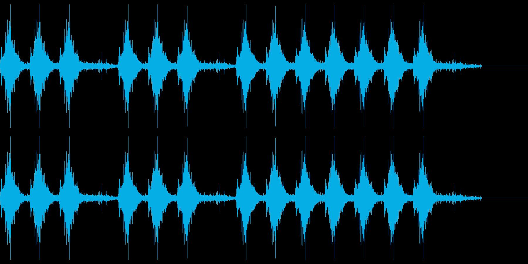 三三七拍子 その10の再生済みの波形
