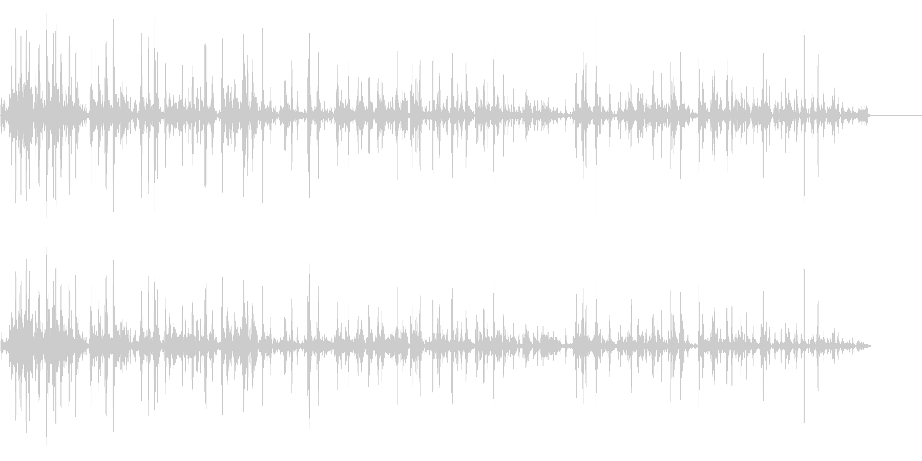 ぶくぶく01の未再生の波形