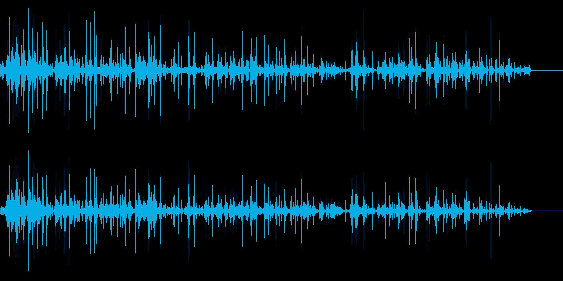 ぶくぶく01の再生済みの波形