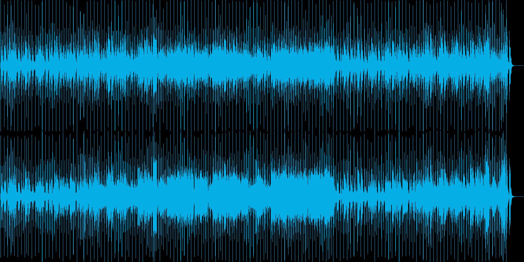 ゆるい感じのカントリー音楽の再生済みの波形