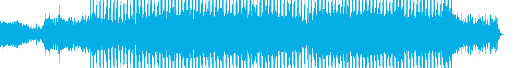 EDMクラブ系ダンスミュージック-38の再生済みの波形