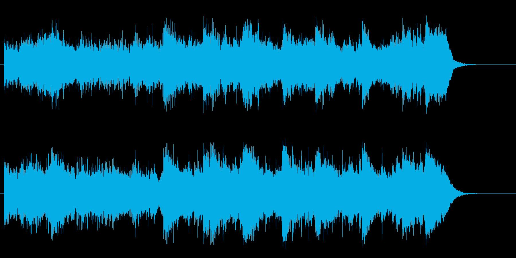 オリエンタルなシルクロード紀行風BGMの再生済みの波形