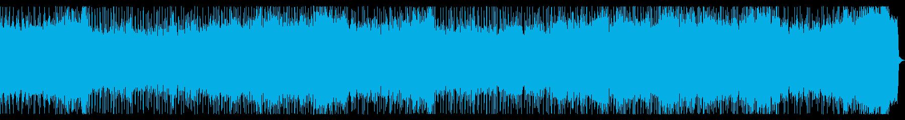 ポップでファンタジックなメタルBGMの再生済みの波形