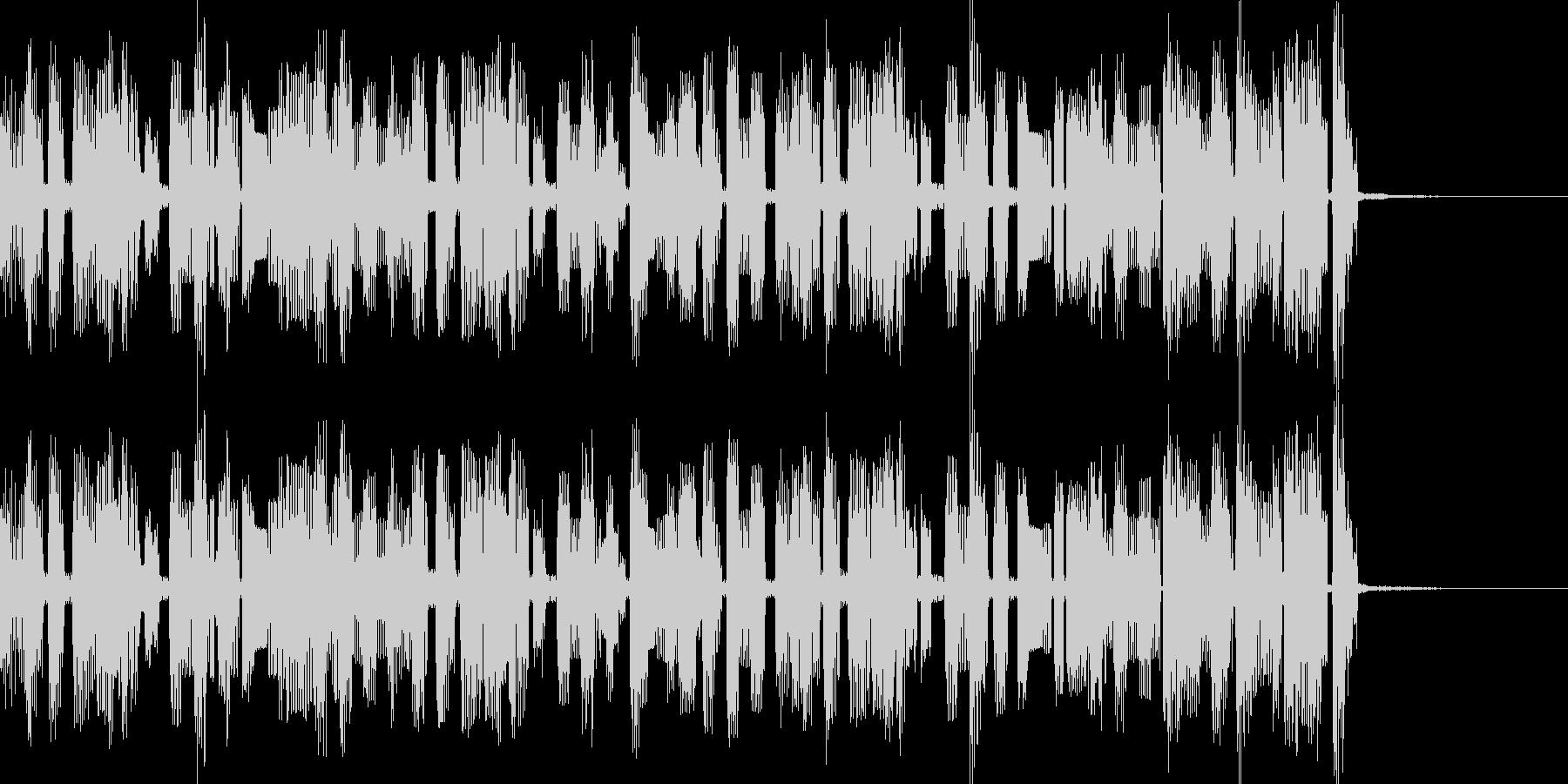 チップチューンサウンドのジングルです。の未再生の波形