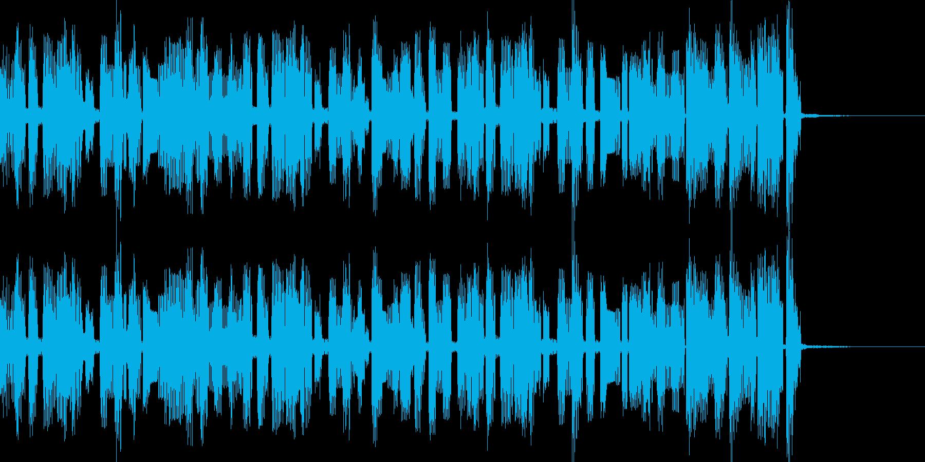 チップチューンサウンドのジングルです。の再生済みの波形