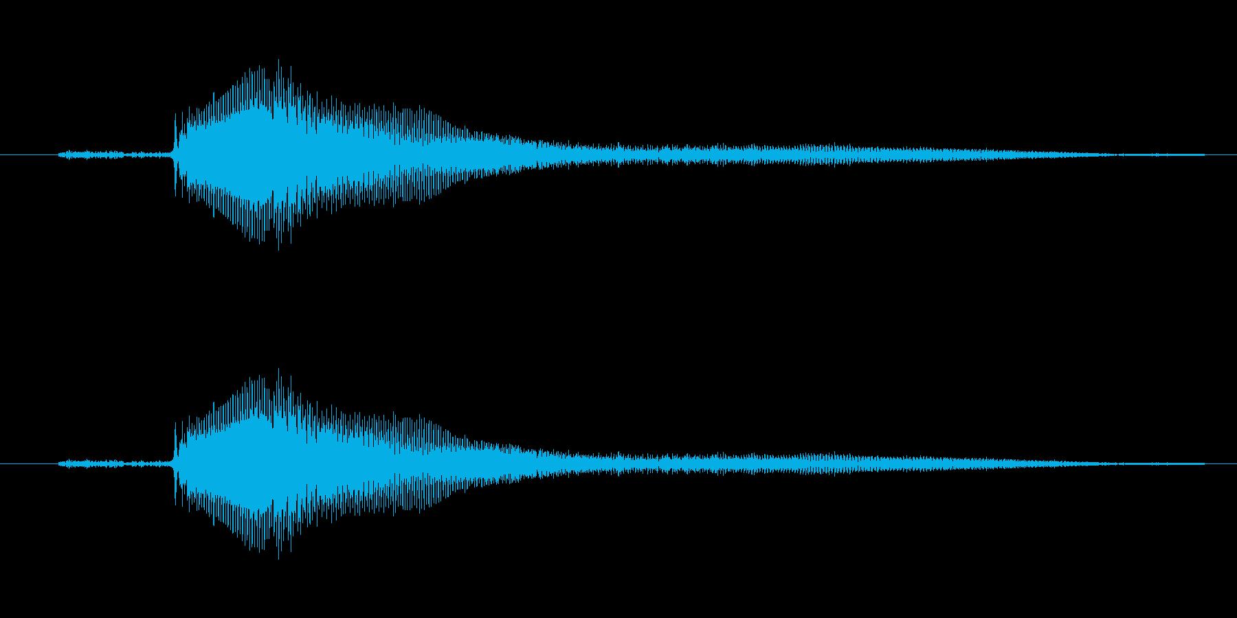 きゅー【鳴き声】架空の生き物・モンスターの再生済みの波形