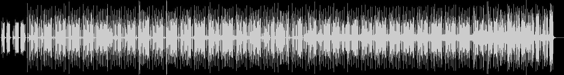 不思議系シンセサイザー木琴曲の未再生の波形