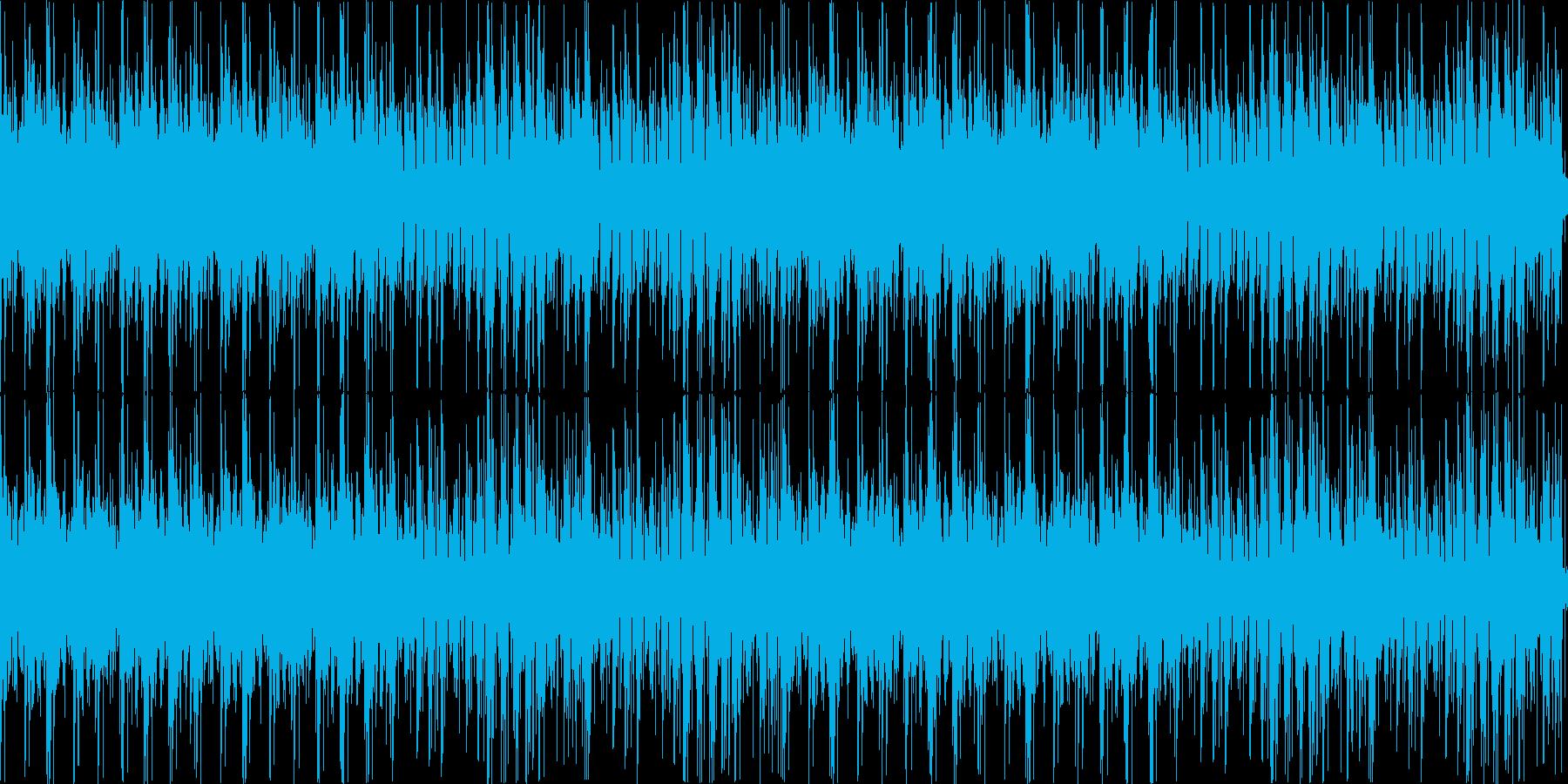 まったりとしたエレクトロ風味のボサノバの再生済みの波形