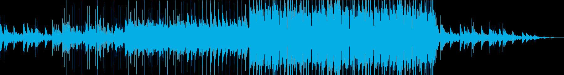 冬に聴きたいポップでおしゃれなBGMの再生済みの波形