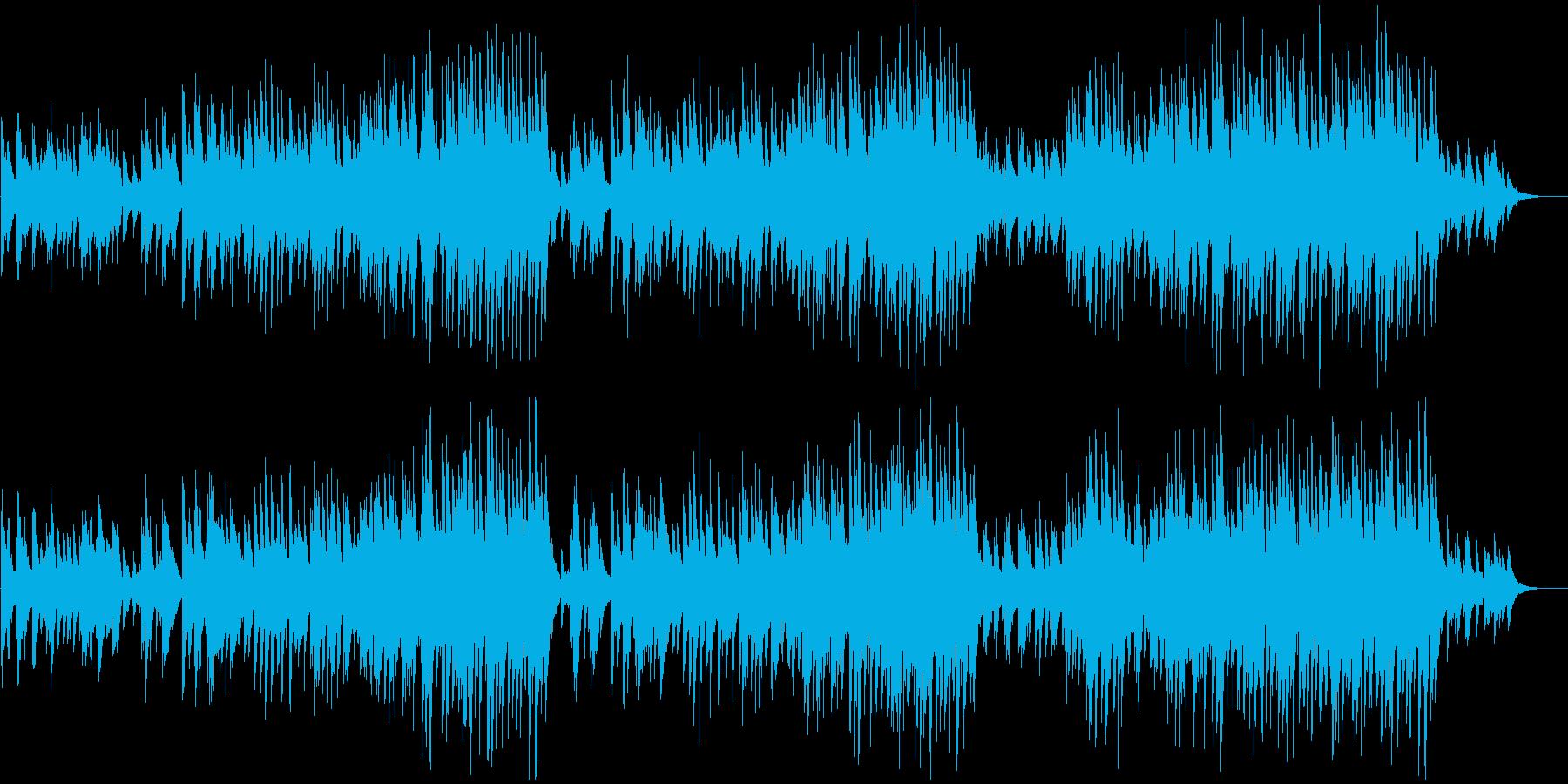 切なく温かいリラックスピアノソロの再生済みの波形