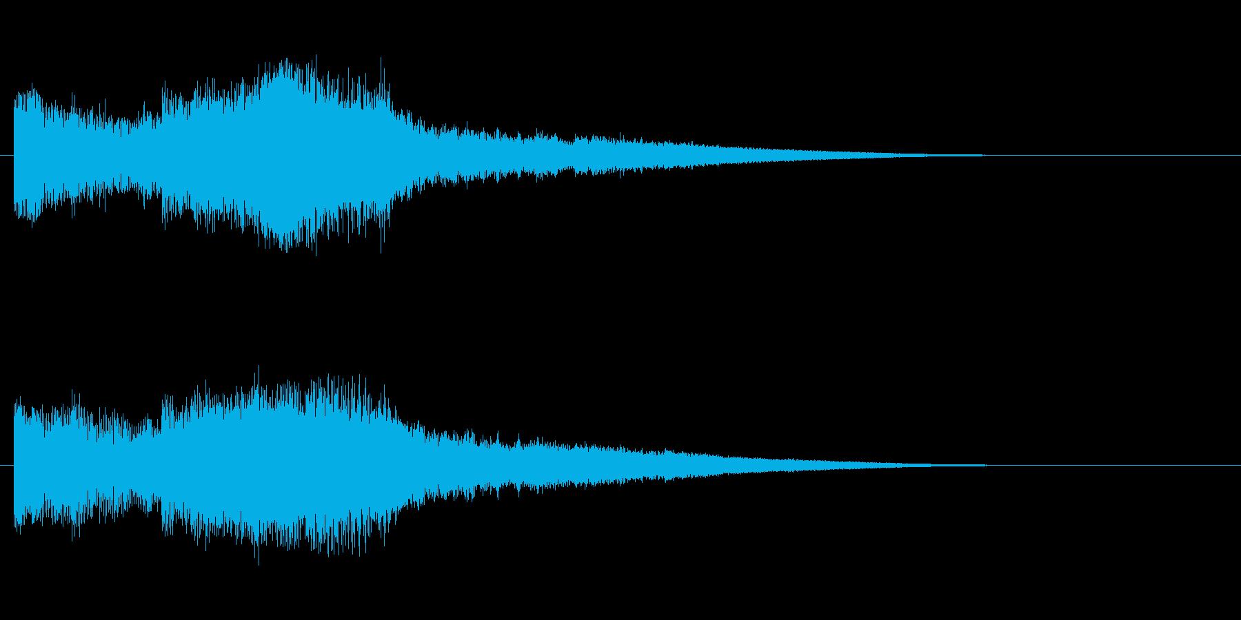南国SE4 ノーマルカード入手 正解の再生済みの波形