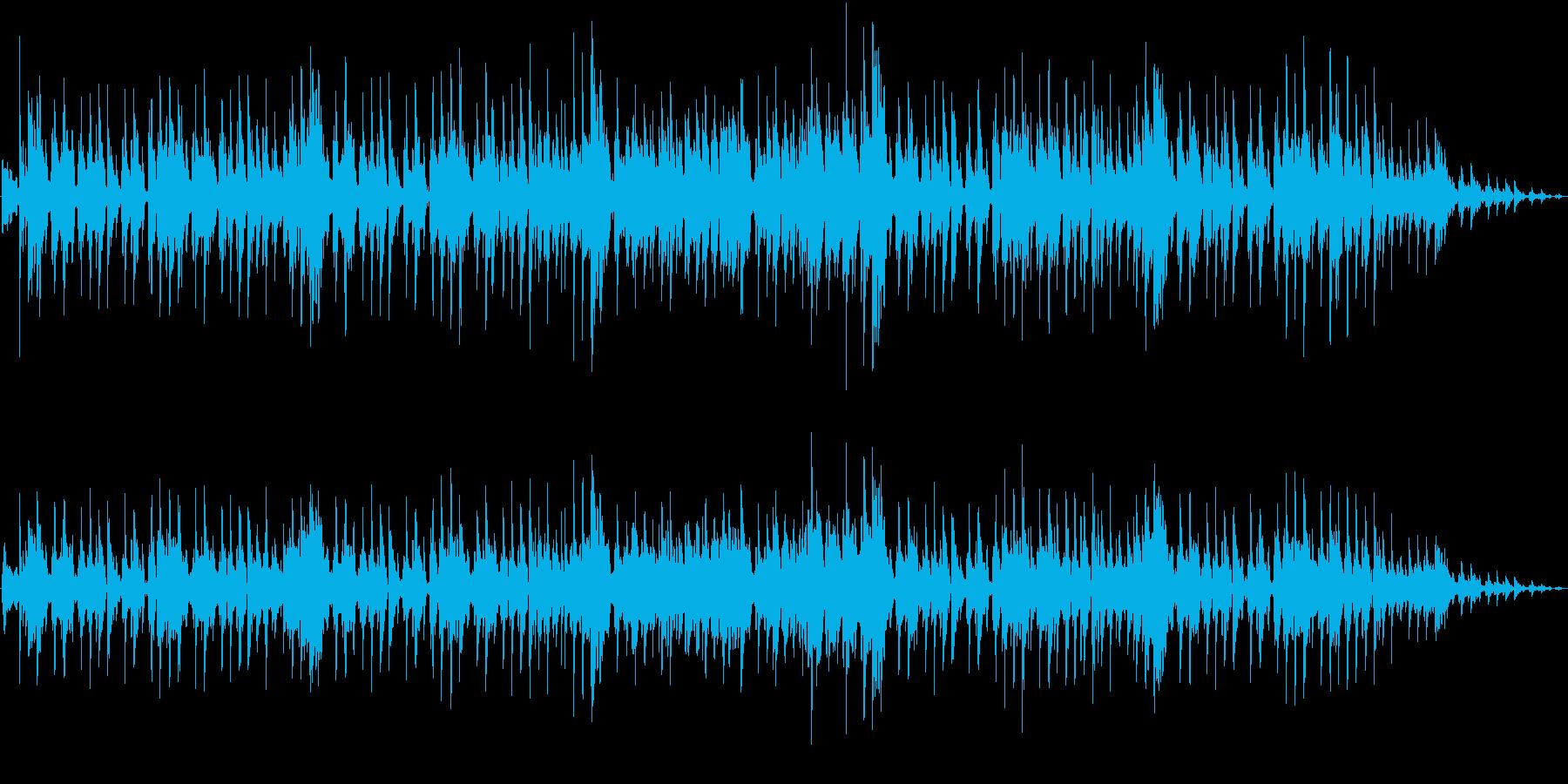 メローな雰囲気の都会的なアシッドジャズの再生済みの波形