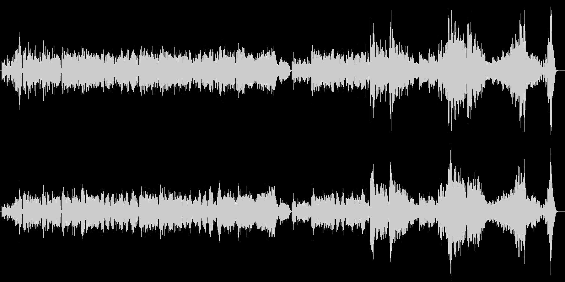 ワルツ 第1番 ピアノソロ版の未再生の波形
