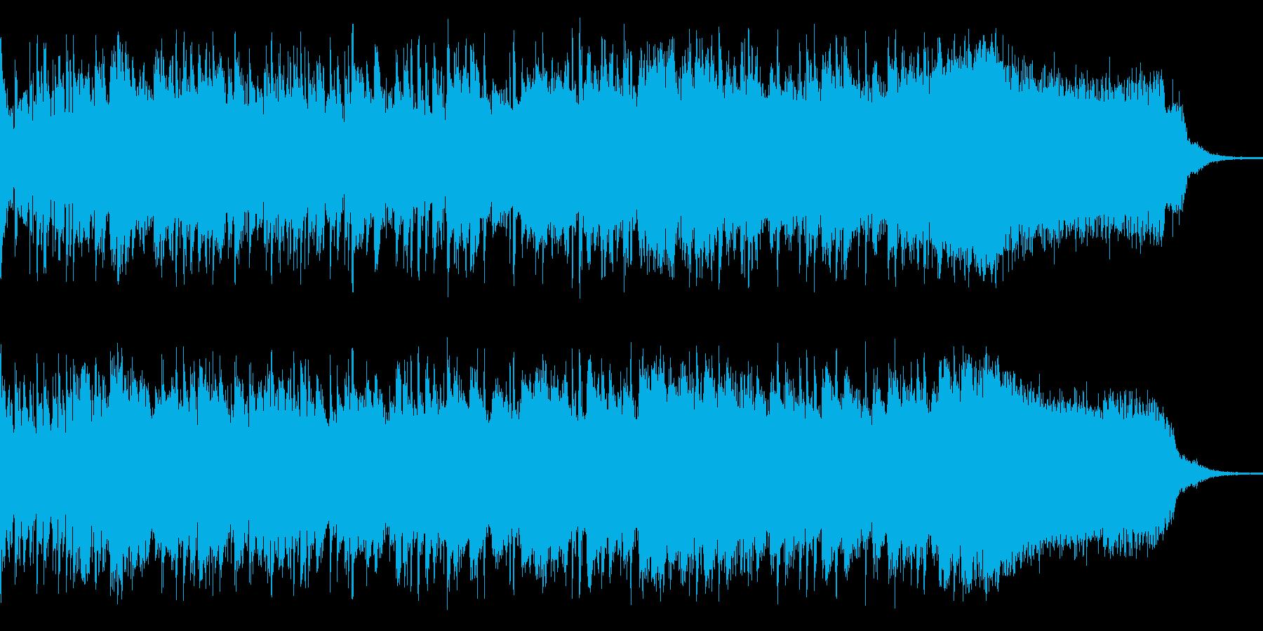 良くある明るい元気な感じの曲ですが、エ…の再生済みの波形